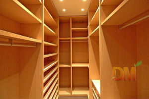 Make to Order Design Maple Luxury Solid Wood Walk in Closet