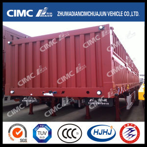 3axle Stake/Cargo Semi Trailer (with twist locks can carry container) pictures & photos