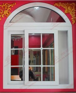 Superior UPVC/PVC Arch Sliding Window (BHP-SWA08) pictures & photos