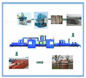 Fully Automatic Energy-Saving Heatproof Roof Tile Machine (HQRT-61)