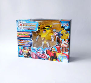 Heissen Warrior Transforming Robot Toys