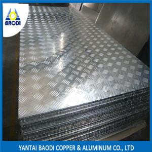 Five Bars Anti-Skid Aluminum Floor Plate pictures & photos