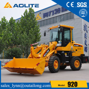Farm Tractor Small Compact Wheel Loader 920 with 1000kg pictures & photos