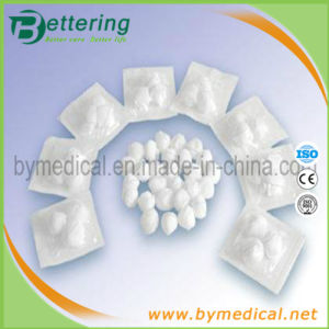 Non-Sterile and Sterile Abosrbent Cotton Gauze Ball pictures & photos