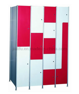 Fire-Retardant Solid Color HPL Lockers pictures & photos