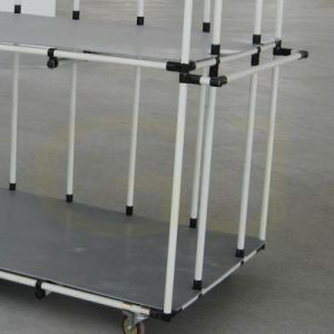 Lean Pipe for Storage Shelf|Tote Cart Pipe
