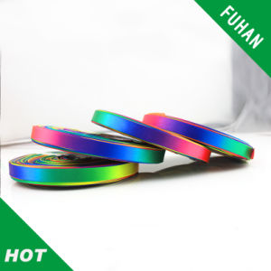 Nice Custom Gift Rainbow Satin Ribbon pictures & photos