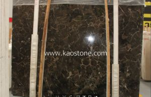 China Dark Emperador Marble Slabs for Wall Cladding pictures & photos