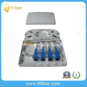 FTTH Customer Sc 4 Port Fiber Optic Terminal Box/Patch Panel pictures & photos