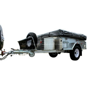 Galvanized Soft Floor Camper Trailer