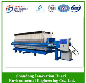 Simple Plate and Frame Filter Press Machine for Laboratory Test pictures & photos