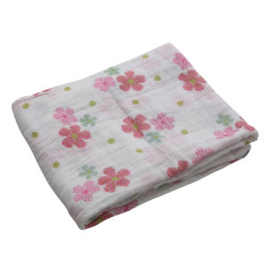 Baby Wholesale Reusable Muslin Swaddleme Blanket pictures & photos