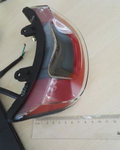 Motorcycle Tail Light Stop/License/Plate Light Lm-113 with E4 CCC Certification pictures & photos