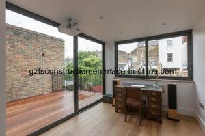 Thermal Break Aluminium Sliding Door with Double Glazed Glass pictures & photos