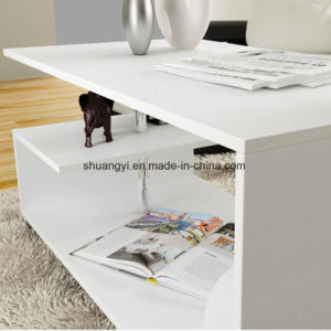 Living Room Furniture Modern Design White Coffee Table pictures & photos