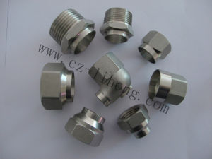 "1-1/2"" Stainless Steel 316 DIN2999 Round Cap pictures & photos"