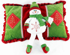 Christmas Cushion by Sonwman Design
