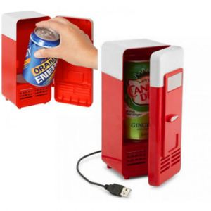 China USB Powered Mini Fridge Drink Cans Cooling Fridge Cooler and ...