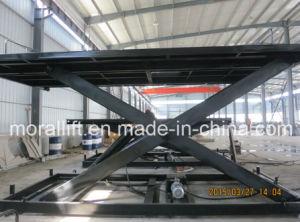 Scissor Design Cargo Lift Table pictures & photos