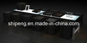 Veneer Finish Display Table with Photo Frame