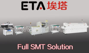 SMT Assembly Line (printer+mounter+reflow oven) pictures & photos