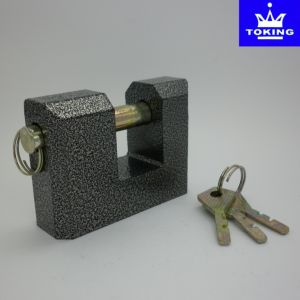 Rectangle Type Cast Iron Padlock (1306) pictures & photos