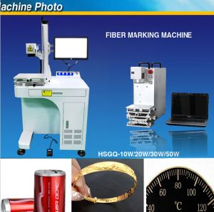 Fiber Metal Laser Marking Machine Price (HSGQ-10W) pictures & photos
