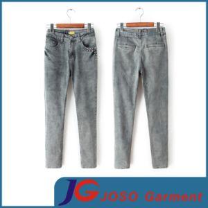Ladies Fashion Jean Wear Denim Pants (JC1327) pictures & photos