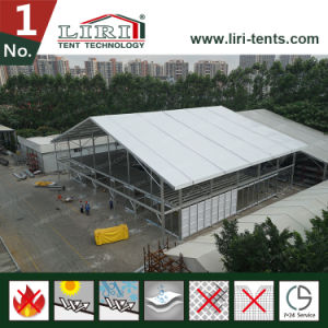 20X60m Double Deck Marquee Tent Strcuture with Two Floor for Luxury Party pictures & photos