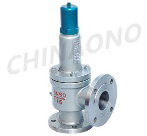 Stainless Steel Large Size Flange Safety Valve pictures & photos