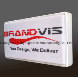 LED Illuminated Advertising Wall Sign pictures & photos