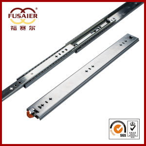 High Quality 53mm Cabinet Heavy Duty Drawer Slide (with Handle) pictures & photos