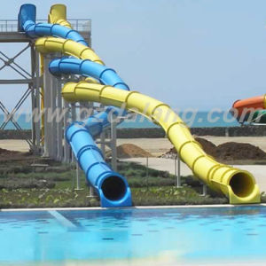 Fly Dragon Fiberglass Water Slide (WS025) pictures & photos