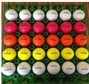 2016 New Design Crystal Colorful Golf Ball, Refined Golf Ball High Quality Golf Ball pictures & photos
