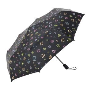 Outdoor Promotional Umbrella Flower Pattern, 190t Pongee Fold Umbrella pictures & photos