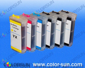 Refillable Ink Cartridge with Arc Chip for HP Designjet T610/T770/T790 (HP72)