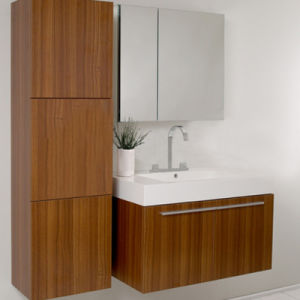 MDF Bathroom Cabinet W-90 pictures & photos