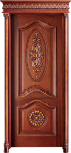 Diverse Style Solid Wooden Door pictures & photos