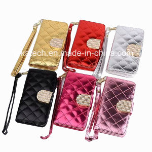 Fancy Shining Leather Case for iPhone 6 pictures & photos