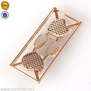 Sinicline Fashion Design Metal Label for Swimwear