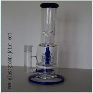 Borosilicate Glass Smoking Water Pipe Hookah with Ground Joint pictures & photos