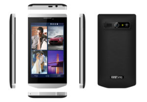 4.3inch Mtk6572 Dual Core 512MB RAM 4GB ROM 3G Android Smart Mobile Phone (QJF1) pictures & photos