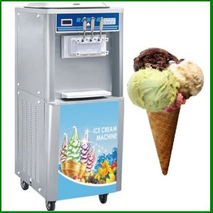 3 Flavors Soft Serve Ice Cream Machine pictures & photos