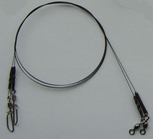 Titanium Fishing Leaders - Crane Swivel and Rolling Swivel with T-Shape Snap pictures & photos