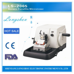 Longshou Rotary Microtome Use for Pathological Analysis Ls-2065 pictures & photos