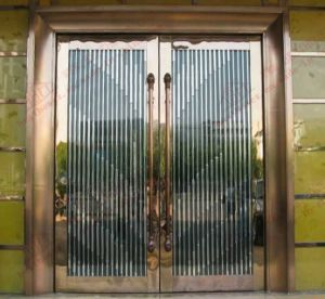 Professional Manufacturer of Stainless Steel Commercial Door (BHS-DC12) pictures & photos