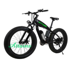 Latest Original Works Fat Tire Electric Dirt Bike pictures & photos
