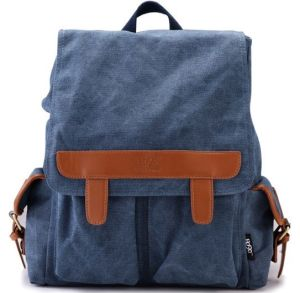 Mix Color Canvas Backpack