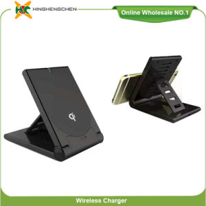 Mobile Phone Q11 Qi Wireless Charger Stand with Holder pictures & photos
