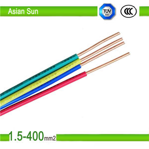 Copper Wire BV Bvr RV PVC Cable 4mm2 6 Sq mm Cable pictures & photos